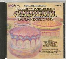 CD COMEDIE MUSICALE BROADWAY 16 TITRES--RODGERS & HAMMERSTEIN--CAROUSEL--COOK