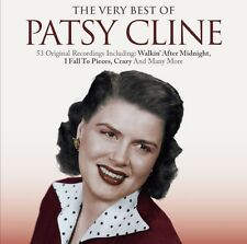 2 CD BEST OF PATSY CLINE CRAZY WALKIN' AFTER MIDNIGHT I FALL TO PIECES I'M BLUE