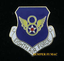 8th EIGHT AIR FORCE HAT LAPEL PIN UP US ARMY AIR CORPS USAF Barksdale AFB WING
