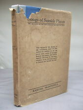 Songs of Seaside Places & Other Verses by Randal McDonnell HB DJ 1932