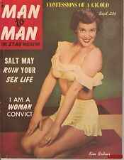 MAN TO MAN MAGAZINE SEPTEMBER 1952 KIM COLLINS PAT ROBERTS NICKY DAY EX COPY