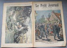 Le petit journal 1897 N°341 Martyr d'Hellemmes - Russie accident de Dorpat