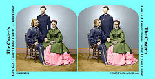 Gen Custer Medal of Honor Civil War SV Stereoview Stereocard 3D 4190978514