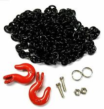 YA-0357BK 1/10 RC Rock Crawler Monster Truck Body Shell 96cm Long Chain Black