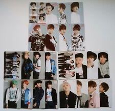 Set of 3 Complete Set BTS Japan OFFICIAL PHOTO CARD For You I need u INU RUN