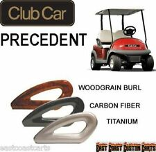 Club Car Precedent 2004-2011 Golf Cart Hip Restraints / Arm Rest Seat Rails