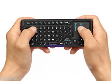 2.4G Wireless Portable Mini Keyboard Mouse Touch Gaming TV Box Xbox Android PS3