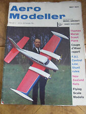 AERO MODELLER  MAG MAY 1971 NEW ZEALAND NATIONALS BROUCEK W-01 STEERED GLIDERS