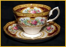 Royal Albert Lady Hamilton Tea Cups & Saucers - New Unused 1st Quality