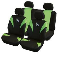 UNIVERSAL CAR SEAT COVER SET Green Grasshopper Washable Airbag Compatible