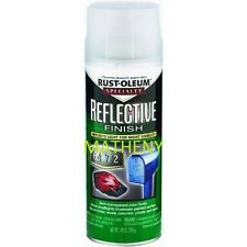 Rustoleum ~ Reflective Spray Paint 10 oz ~ Night Visible Glow Finish ~ 214944