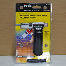 IRODA Pro-Torch PT-220 Butane Power Piezo ignition
