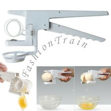 EZ Egg Cracker Handheld York & White Separator On TV Kitchen Gadget Cooking Tool
