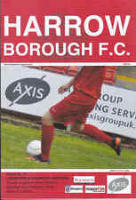 2013/14 HARROW BOROUGH V HAMPTON & RICHMOND BOROUGH 22-02-2014 Ryman League Prem