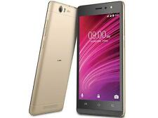 Lava A97 Black Gold 8GB 4G VoLTE Jio Support Android M 6.0 Front LED FLASH