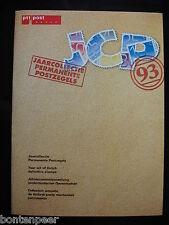 PTT JAARCOLLECTIE 1993 SUPPLEMENT PERMANENTE POSTZEGELS LANGLOPEND