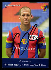 Scott Chipperfield Autogrammkarte FC Basel 2011-12 Original Signiert +A32544