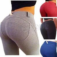Women Sexy Skinny Jeggings Leggings Pencil Tight Trousers Bottoms Stretchy Pants