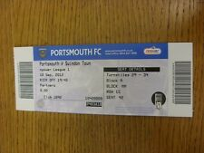 18/09/2012 Ticket: Portsmouth v Swindon Town  . Thanks for viewing this item, we
