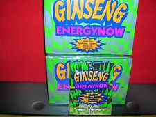 GINSENG ENERGY NOW/ 2-24 PKT BXS(48 PKTS=144 TABLETS) SAVE $$-WE SHIP FAST!!