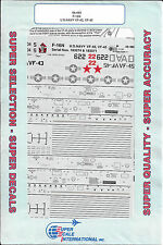 Super Scale F-16N Falcon Decals US Navy VF-43, VF-45 1/48 480 JE