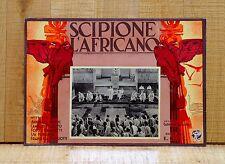 SCIPIONE L'AFRICANO fotobusta poste Impero Romano Fasci Littori Roma Gallone A1