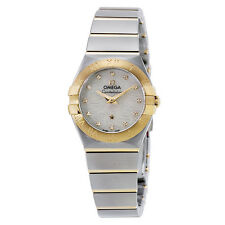 Omega Constellation Mother of Pearl Dial Ladies Watch 123.20.24.60.55.008