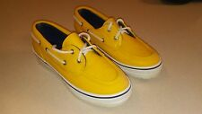 SPERRY Top-Sider Women's Yellow Rubber Rain Boat Shoes - Size 8 M