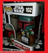 FUNKO POP STAR WARS BOBA FETT JET PACK EXCLUSIVE SMUGGLERS BOUNTY hunter 102