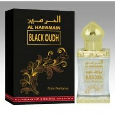 Black Oudh 12 ml Perfume Oil Arabian Attar Itr Oud By Al Haramain