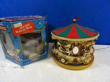 MR CHRISTMAS Holiday Musical Carousel Merry-go-Round