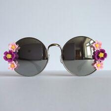 Scarlet Pimpernel Pink - PINKS & MINKS Embellished Sunglasses Purple Pink Flower