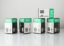 5x ORWO NP22 BLACK & WHITE 35mm FILM Expired 1991 ISO 125 LOMO RARE