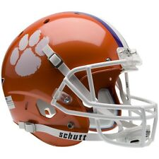CLEMSON TIGERS SCHUTT XP FULL SIZE REPLICA FOOTBALL HELMET