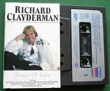 Richard Clayderman Songs of Love Cassette Tape - TESTED