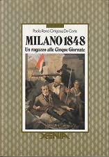 Milano 1848. Paolo Ranci Ortigosa De Corte. Xenia. 1990. MB6