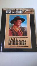 """DVD """"LOS COMANCHEROS"""" DVD LIBRO DIGIBOOK MICHAEL CURTIZ JOHN WAYNE LEE MARVIN"""