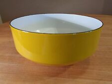 "Vintage  Copco Yellow Enamelware Bowl-Michael Lax Switzerland 1 of 2 ""8"""