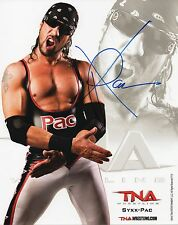 "TNA SIGNED PHOTO SYXX-PAC 8x10"" PROMO FORMER WWF WWE DX WRESTLING X-PAC"