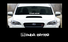 "Honda eater sticker 23"" Windshield JDM acura car subaru decal VW mitsubishi"