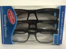Lot of 9 Reading Glasses Kenneth  +2.00 New in Package