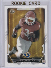 TODD GURLEY RC St. Louis Rams ROOKIE CARD Bowman Football 2015 Georgia Bulldogs!