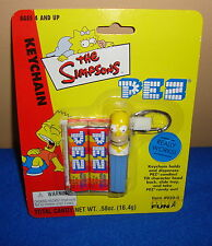 The Simpsons Homer Pez Keychain by Basic Fun MOC