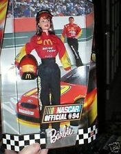 NASCAR BARBIE 12 INCH DOLL MCDONALDS #94 OUTFIT MIB
