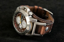 Authentic FOSSIL Men's Watch TREND Chronograph JR-1157 Free Shipping 839f25