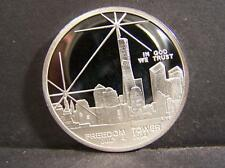 Freedom Tower July 4Th 2004 With Twin Towers On Backside 1 Ounce .999 . Lot 67