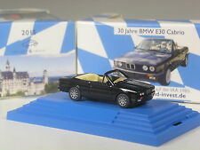 Wiking C & I colección bmw 325i cabrio (e30) negro metálico en PC, 30 años