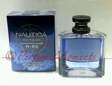 Nautica Voyage N-83 Men 3.4 OZ 100 ML Eau De Toilette Spray New in Box Sealed