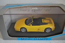 Ferrari F355 spider Yellow scale 1:43 Minichamps NEW in Box !!