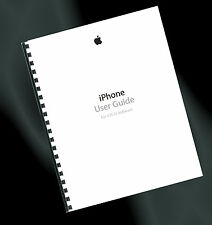 ~ PRINTED ~ Apple iPhone 4 & 4s User Guide, Instruction Manual (iOS 7.1)